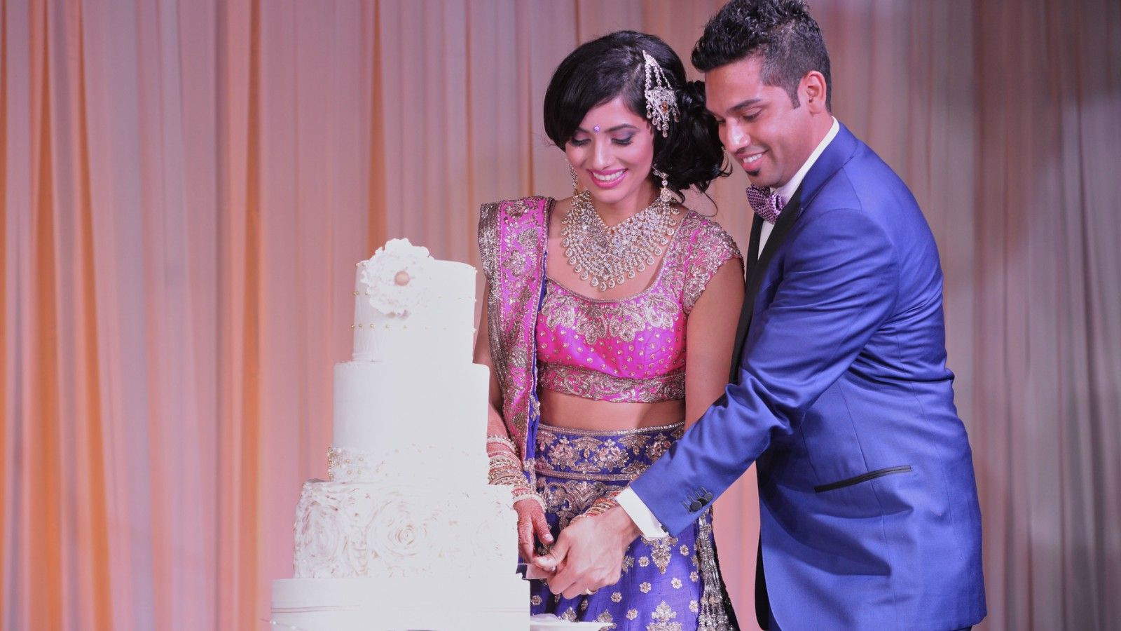 Downtown Calgary Wedding Venues - Indian Wedding Bride and Groom