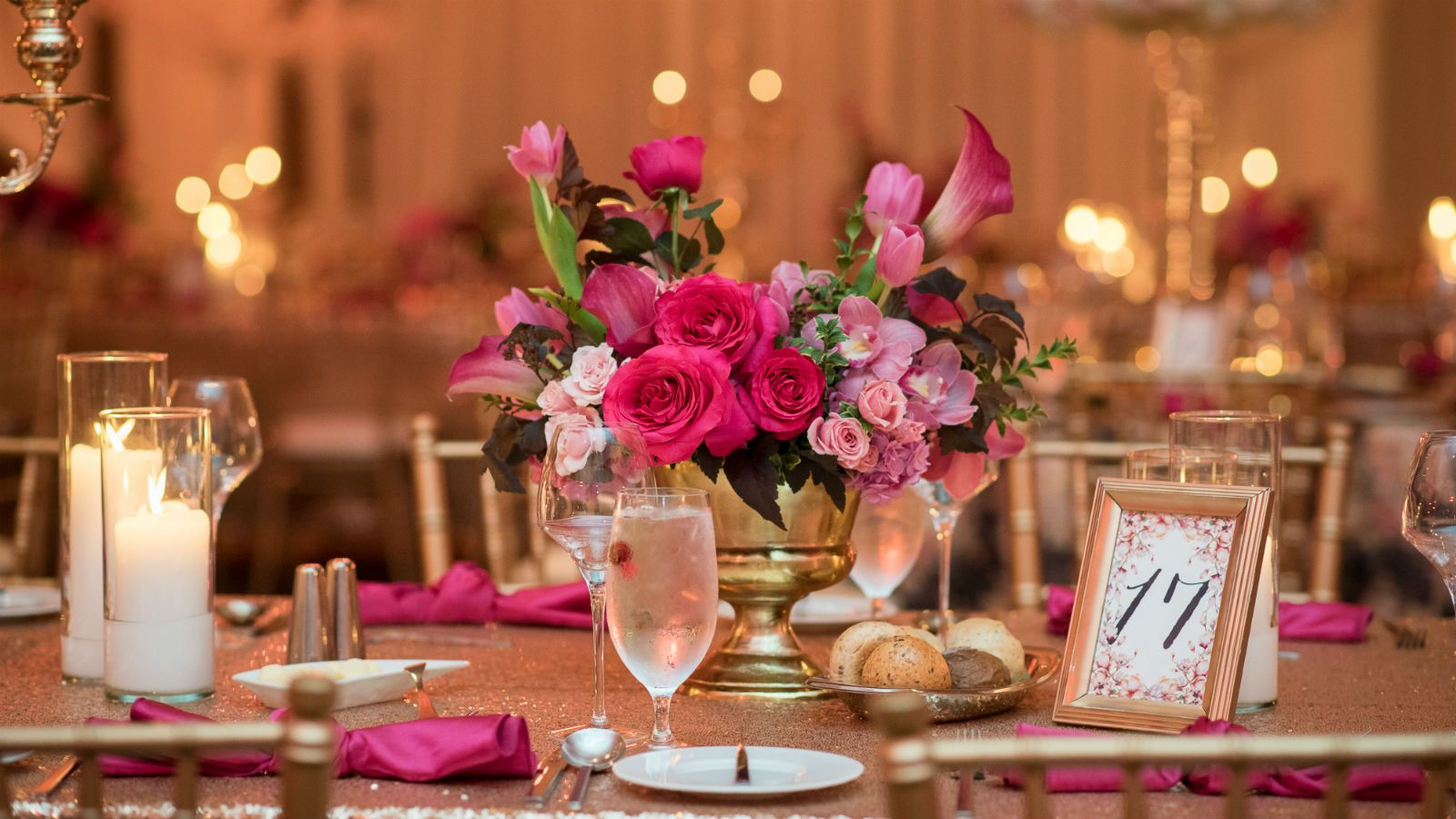 Downtown Calgary Wedding Venues - Table scape