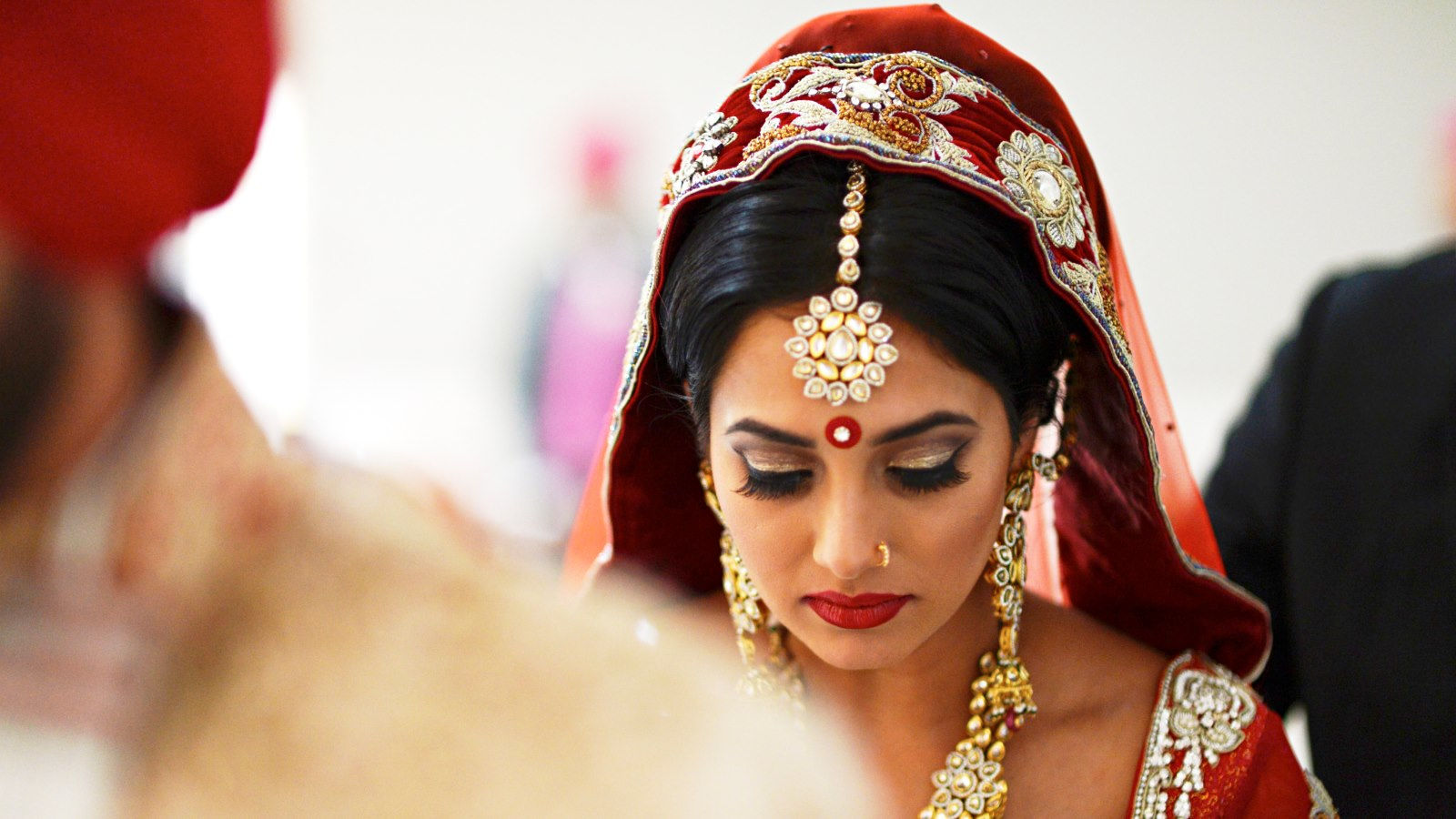Downtown Calgary Wedding Venues - Indian Wedding Bride