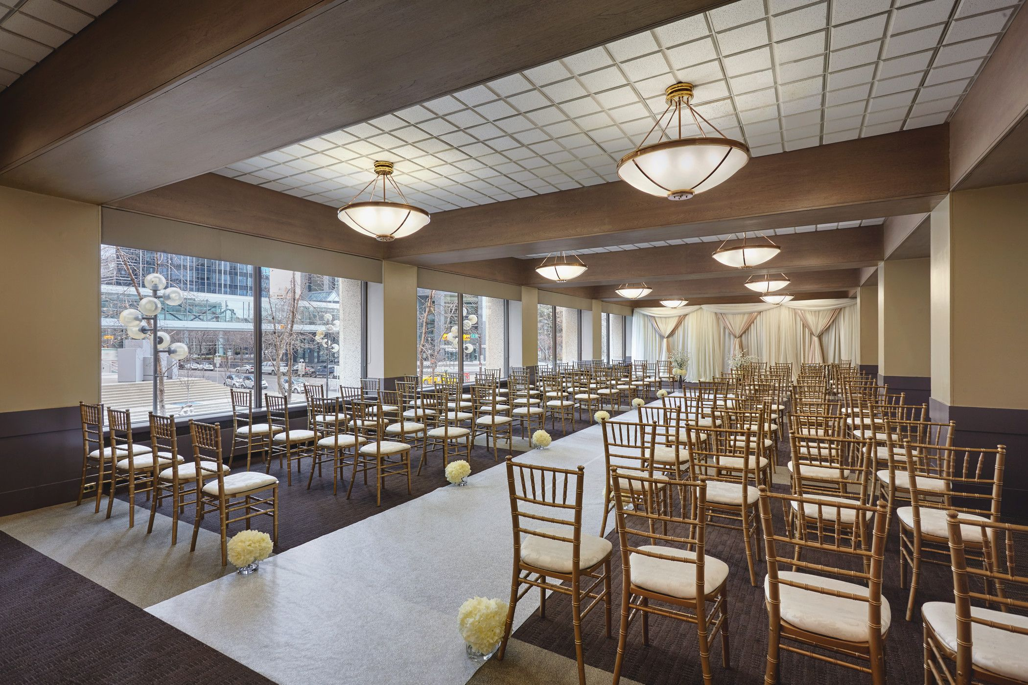 Downtown Calgary Wedding Venues - Bonavista Room