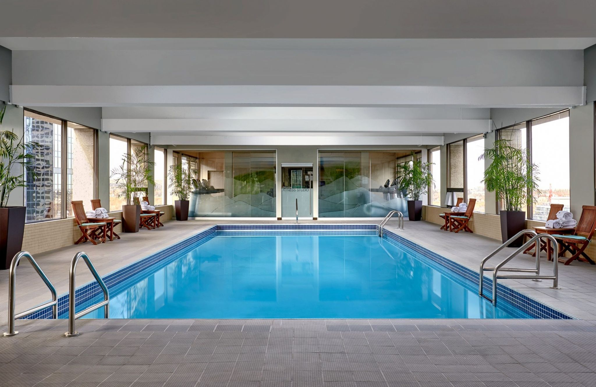 Calgary Hotel Accommodation - Indoor Pool